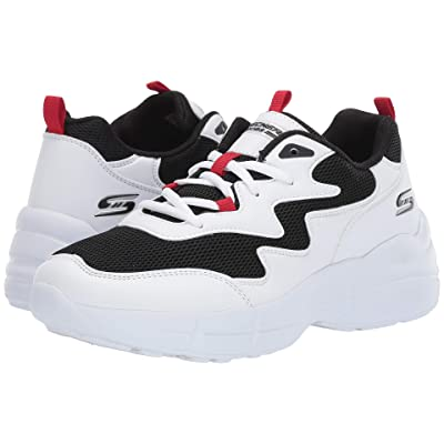 BOBS from SKECHERS Primo Popsicle (White/Black/Red) Women