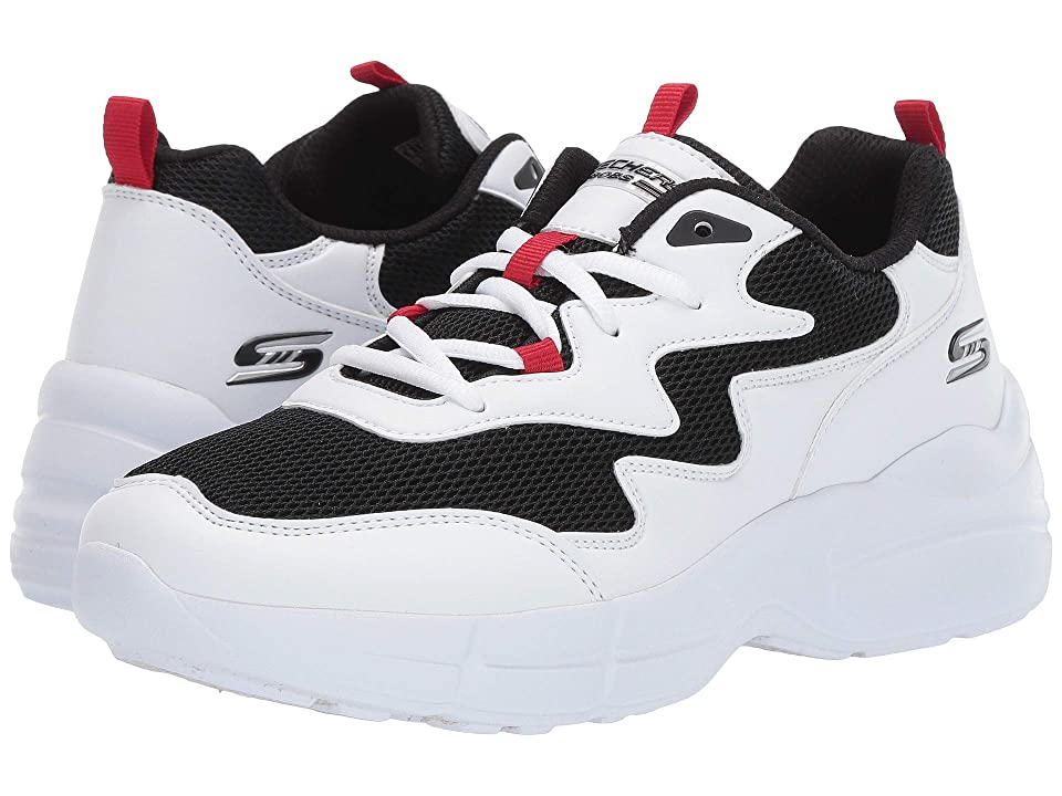 BOBS from SKECHERS Primo - Popsicle (White/Black/Red) Women's Shoes