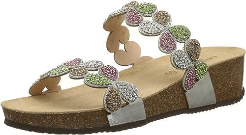Grunland Anin, Chaussures de Plage & Piscine Femme