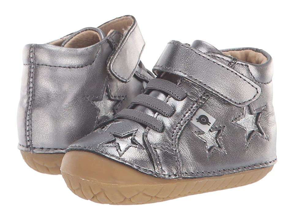 Old Soles Reach Pave (Infant/Toddler) (Rich Silver/Silver) Boy