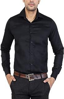 U TURN Men's Solid Casual Shirt L