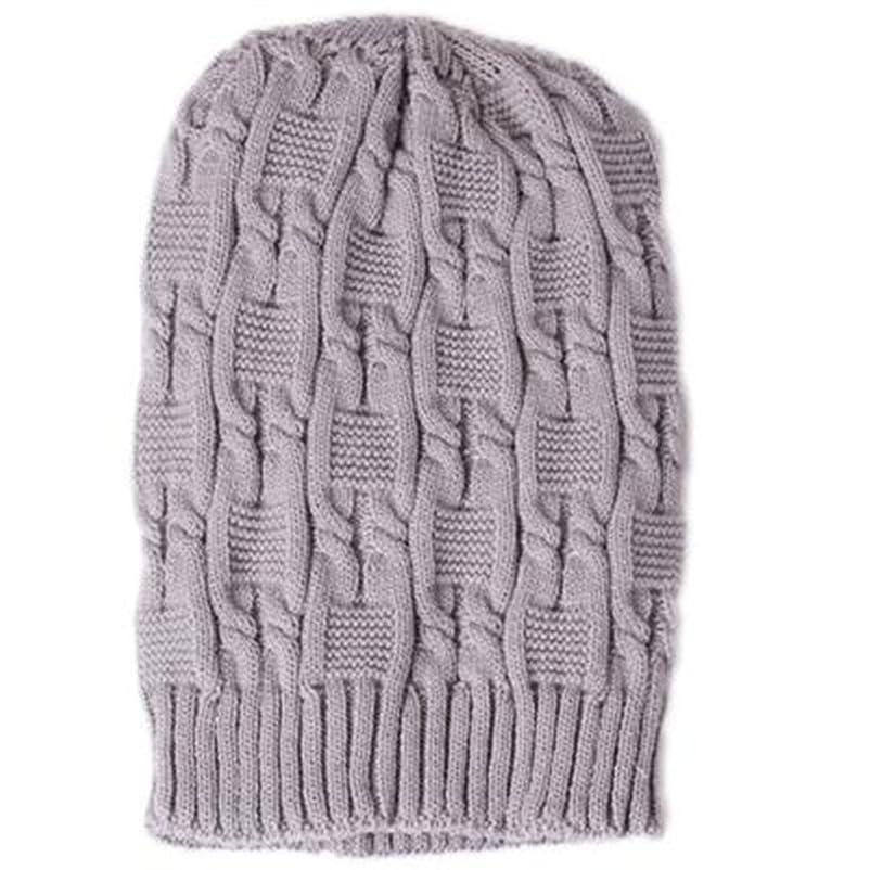 推進ビリーヤギ奨励Guangqi冬暖かいニットかぎ針編みスローチバギーベレー帽ビーニー帽子キャップ