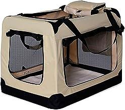 dibea TB10045 Bolsa de Transporte para Perros y Gatos, Beige, (XXXL) 101x69x70 cm