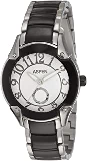 (Renewed) Aspen Power Bold Analog Silver Dial Womens Watch - AP1585