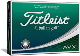 Titleist AVX Golf Balls (One Dozen)