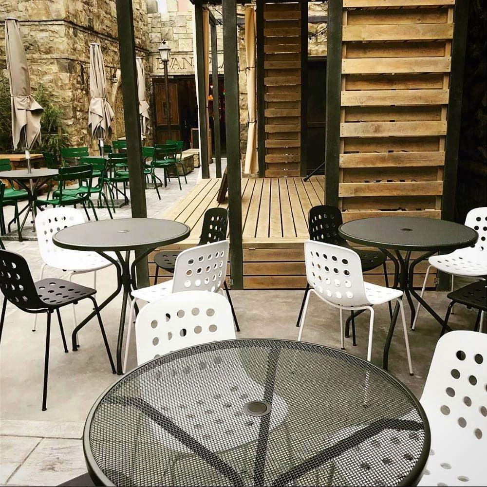 TOOU Holi Lot de 2 chaises d'appoint à coquille ouverte en terre cuite rouge Coque Ouverte, Terre Cuite Rouge.