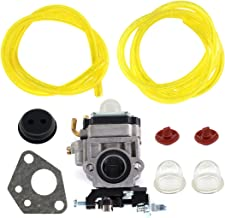 USPEEDA Carburetor for Thunderbay Y43 Auger Power Head Y2007 Mini Cultivator 430025 Grommet Check Valve