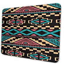 Xinjiang Chuangda Real Abstract Mouse Pad (12 X 10 Inches) Four Sizes Computer Keyboard Mouse Pad, Waterproof, Non-Slip Base, Sewing Edge Durable
