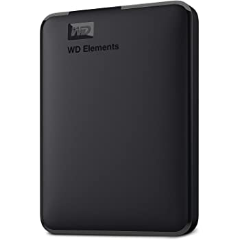 Western Digital Elements 1.5 TB Portable External Hard Drive (Black)