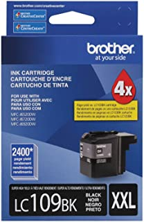 Brother Printer Ultra High Yield Inkjet Cartridge - Black (LC109BK)
