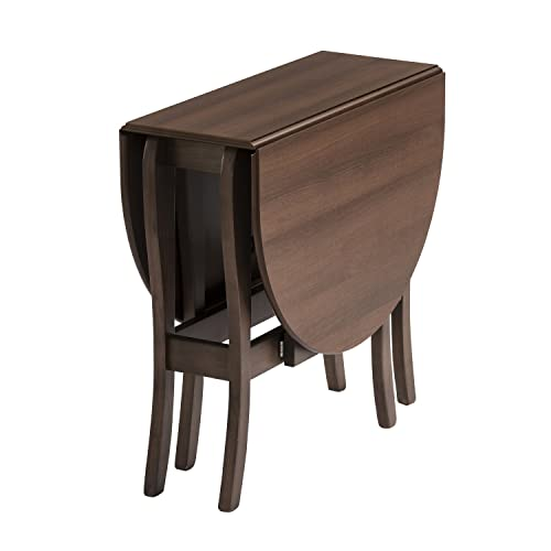 Folding dining table for small space Chairs Mood Furniture Heatproof Oval Gateleg Gate Leg Drop Leaf Table In Walnut folding Table For Amazon Uk Small Folding Dining Table Amazoncouk