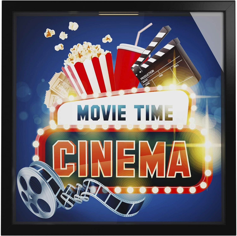 3. Movie Theater Themed Shadow Box
