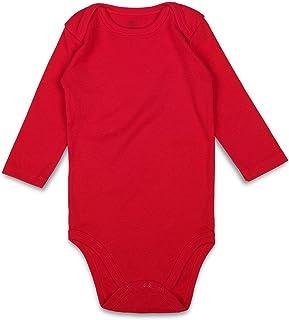 ROMPERINBOX Unisex Solid Baby Bodysuit 0-24 Months 84fd0d97e