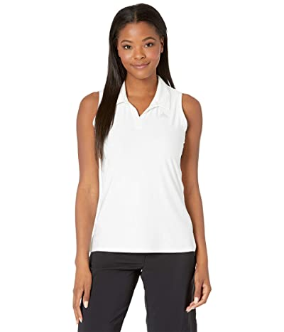 adidas Golf Go-To Sleeveless Primegreen Polo Shirt