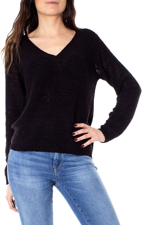 Only Women's 15175267BLACK Black Acrylic Jumper