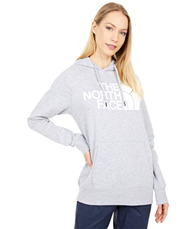 The North Face Half Dome Pullover Hoodie (TNF Light Grey Heather/TNF White 2) Women