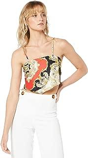 Bardot Women's Chain Bandana TOP, Scarf PRNT