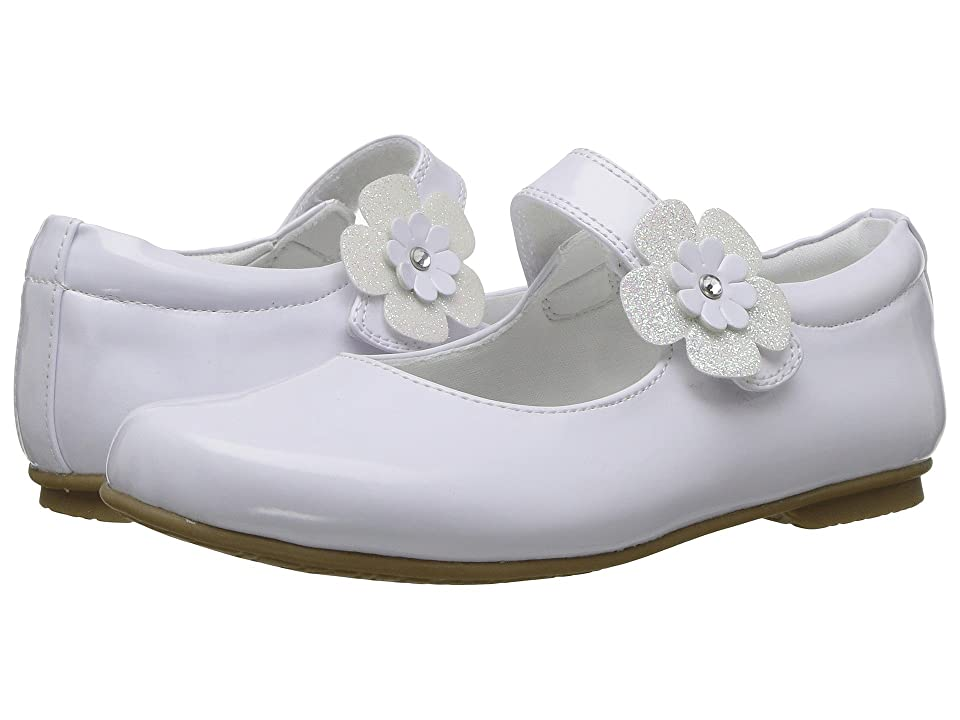Rachel Kids Dawn (Little Kid/Big Kid) (White Patent) Girl