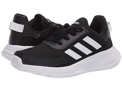 adidas Kids Tensaur Run (Little Kid/Big Kid) (Black/White) Boy