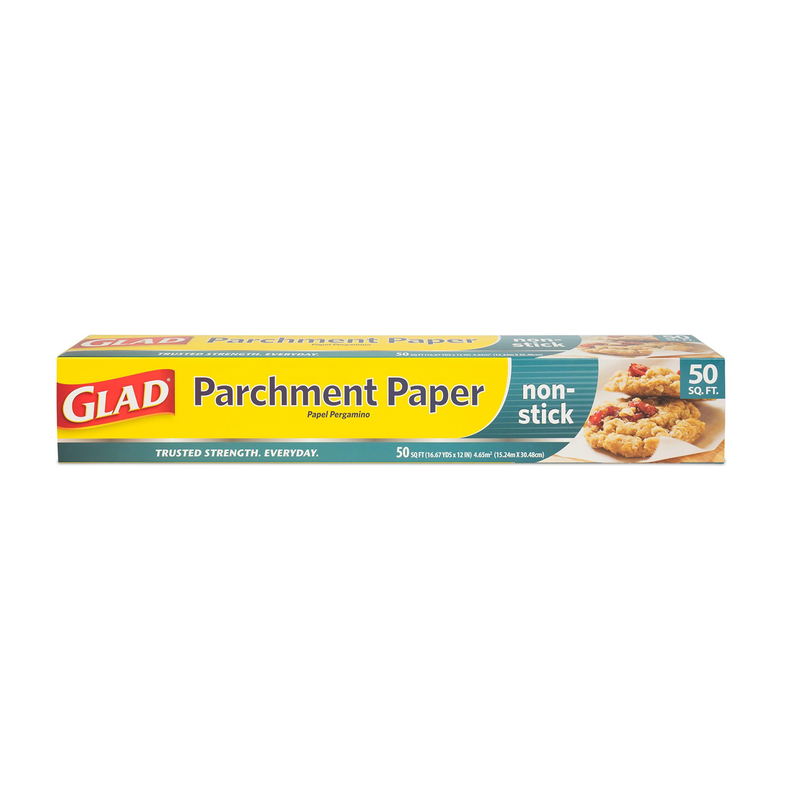 Glad BB0481 Parchment Paper 50 Square Feet