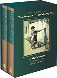 Adventures of Tom Sawyer and Huckleberry Finn: Norman Rockwell Collector's Edition