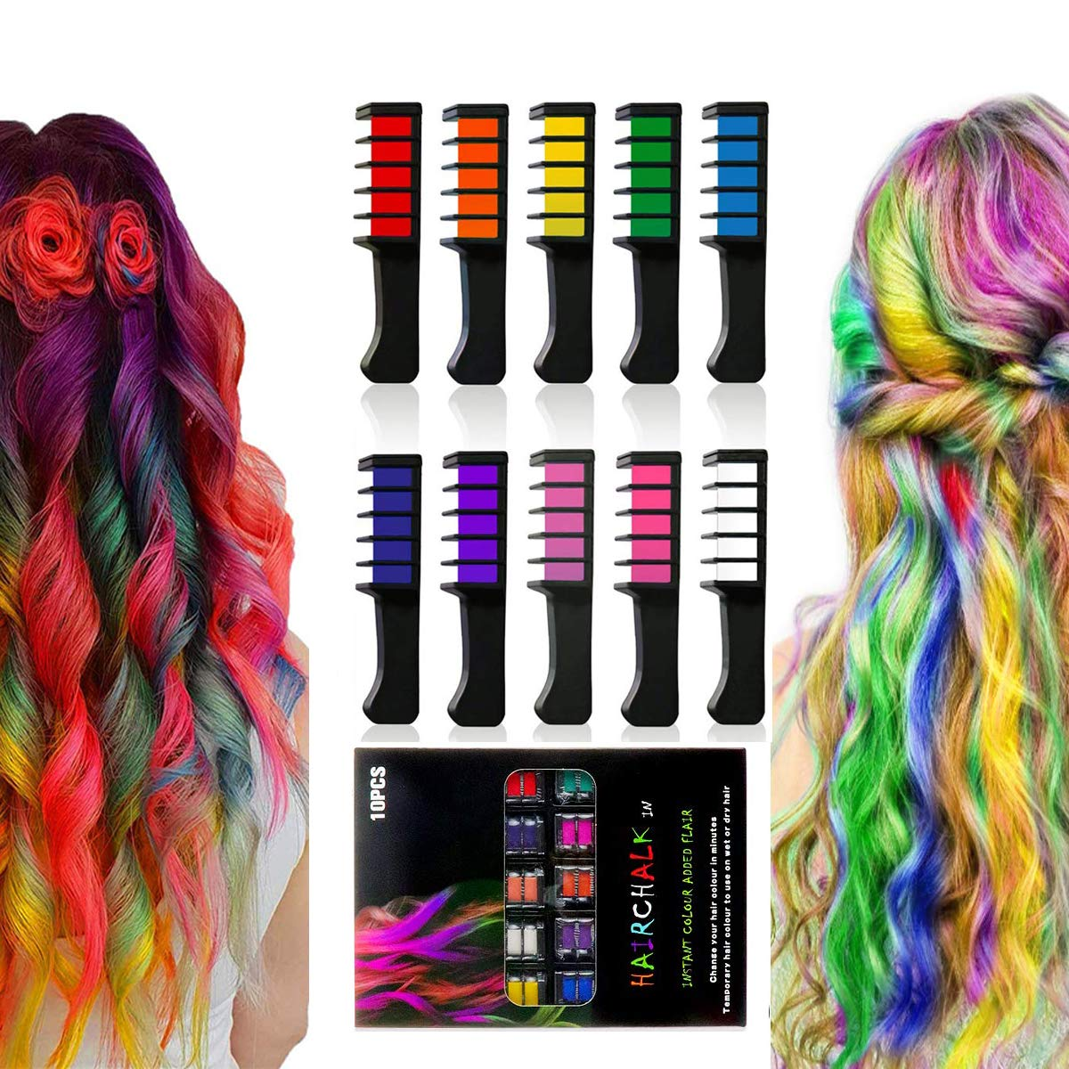 San Francisco Mall Hair Manufacturer regenerated product Chalk Halloween Birthday Christmas and DIY Cosplay Col 10