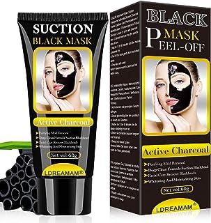 Puntos Negros Mascarilla Mascarilla Exfoliante Facial Black Mask-Mascara Negra De Purificante Espinillas y Piel Muerta ...