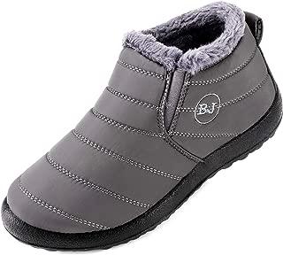 Cattle Shop Women Men Winter Slip-on Waterproof Snow Boots Outdoor Anti-Slip Warm Shoes