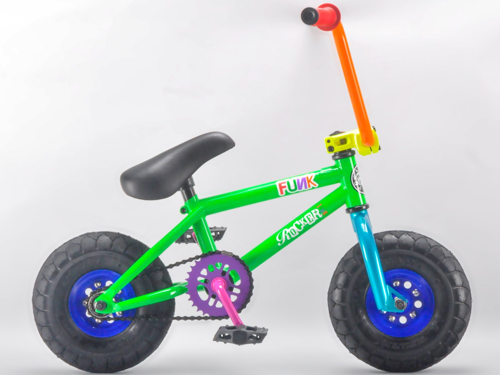 Rocker - Mini Bicicleta Bmx - Modelo Irok Funk: Amazon.es ...