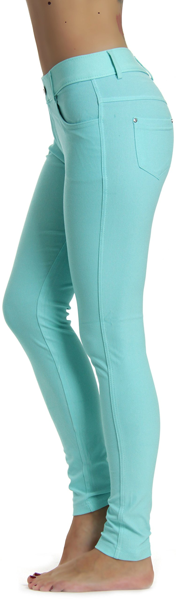 Prolific Health Jeggings Leggings Turquoise