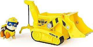 Paw Patrol - Bulldozer con grúa Recoge escombros (Spin