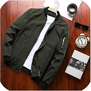 Casual Slim Mens Jacket Sportswear Bomber Jacket Mens Jackets Men and Coats Plus Size S 6XL 9900