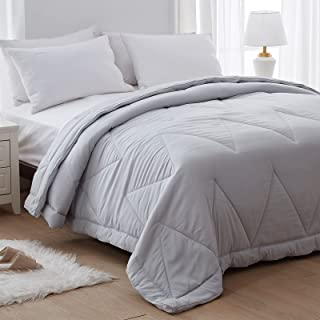 NexHome 100% Washed Microfiber Queen Size Lightweight Comforter Luxury and Soft Bed Quilt for Summer&All Season (88x88 Inc...