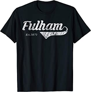 Retro Soccer Jersey Fulham Top Cottagers Shirt