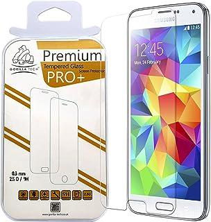 Gorilla Tech premium härdat glas skärmskydd för HTC One M8 mini osynligt skydd 9H hårdhet kristall klar HD-kvalitet okross...