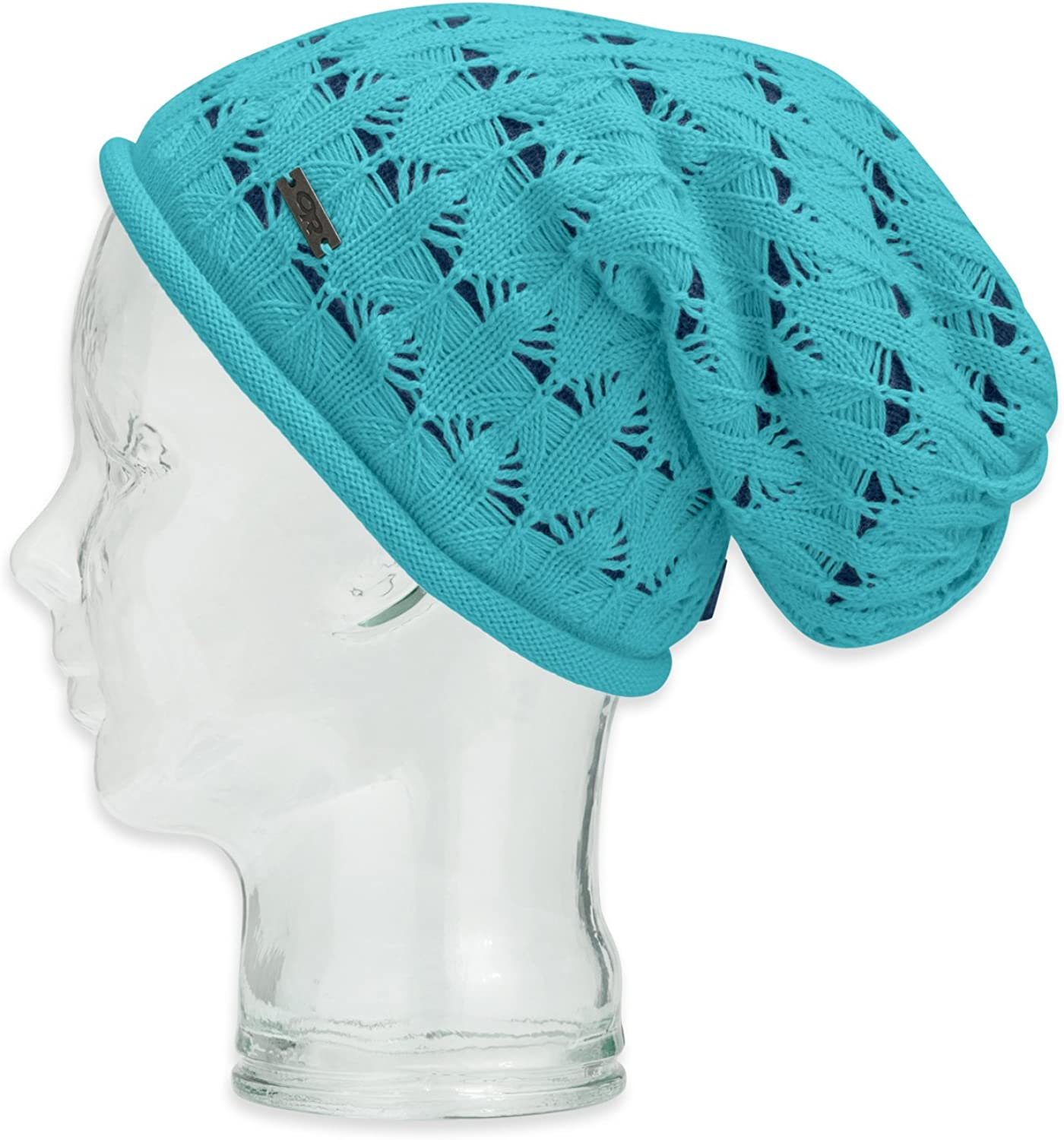 Outdoor Research Womens Snow bluesh Beanie, Pool Abyss, One Size