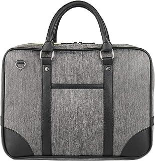 Bageek Men Briefcase Oxford Cloth Large Capacity Laptop Briefcase Business Bag Messenger Bag