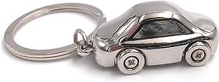 H Customs Auto Kfz Silber aus Metall PKW besonderer Schlüsselanhänger