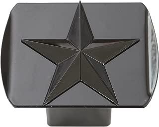 Texas Lone Star 3d Black Emblem on Black Trailer Metal Hitch Cover Fits 2
