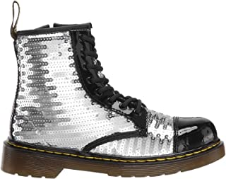 Dr. Martens Kid's Collection Girl's 1460 Pooch Sequins Boot (Little Kid/Big Kid)
