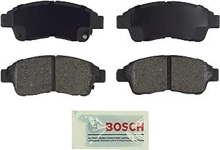 Bosch BE562 Blue Disc Brake Pad Set for Select 1992-01 Geo Prizm; Toyota Camry, Celica, Corolla, RAV4 - FRONT