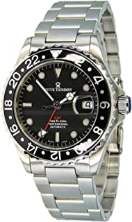 Revue Thommen GMT Professional Men's Stainless Steel Automatic Swiss Made Watch 17572.2137