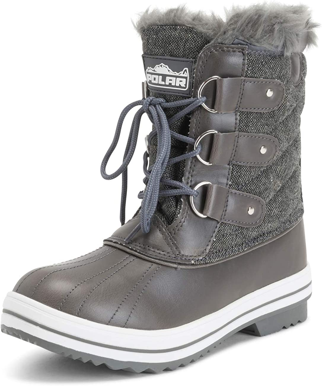 | Womens Snow Boot Quilted Short Winter Snow Rain Warm Waterproof Boots | Snow Boots