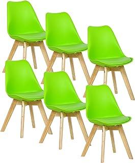 : Chaises Design Vert