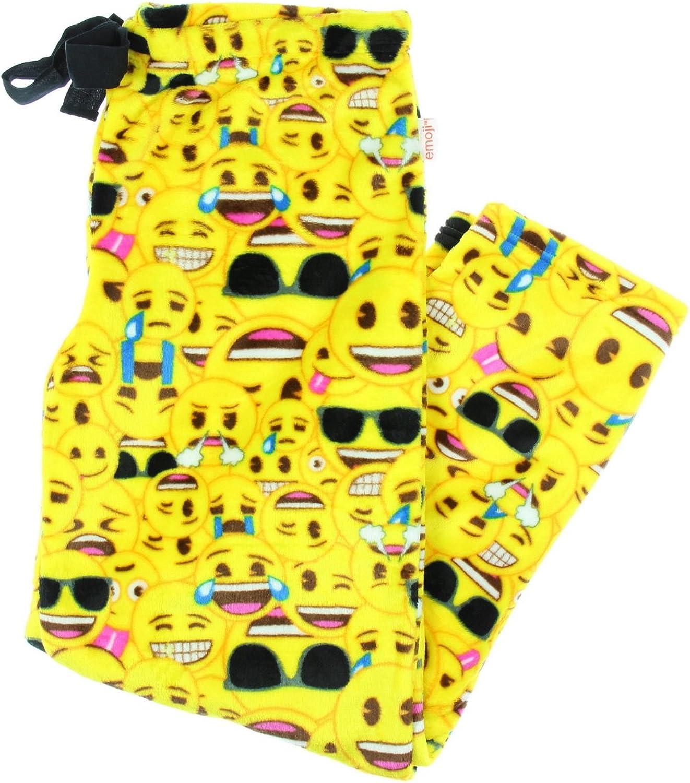 Emoji All Over Superminky Fleece Sleep Pants