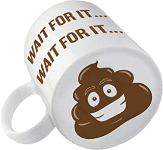 Po-p Emoji Coffee Mug | Coffee Makes Me Po-p | Funny Novelty Gag Gift