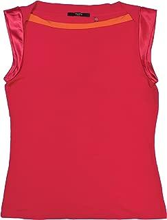 Tahari Pink Sleeveless T-Shirt M Petites