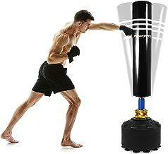 MMA Bokszak, vrijstaande bokszak met zuigvoet, voor volwassenen, MMA bokstrainer, kickboksen