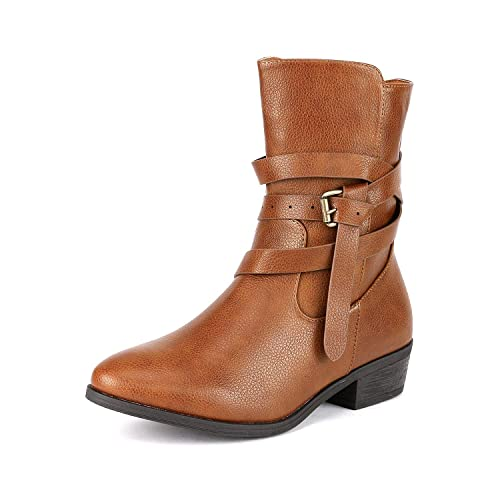 4ca5c0d5974f DREAM PAIRS Women s Chelsea Ankle Booties