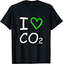 I Love Co2 Carbon Dioxide Climate Change Hoax Global Warming T-Shirt